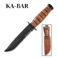 Ka-Bar Short Ka-Bar Serrated