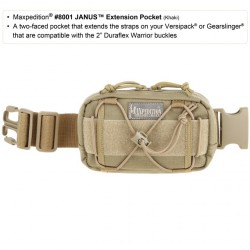 Maxpedition Janus Extension Pocket. Foliage Green