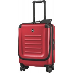 Maleta de cabina ultraligera Victorinox Spectra Dual-Access Global Carry-On Rojo
