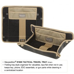 Vaciabolsillos Maxpedition Tactical Travel Khaki