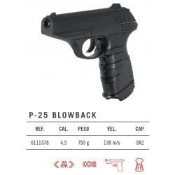 Gamo P-25 Blowback Co2