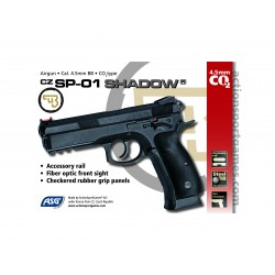 Pistola ASG CZ SP-01 Shadow Co2