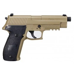 Sig Sauer P226 ASP FDE Blowback Co2 Full Metal