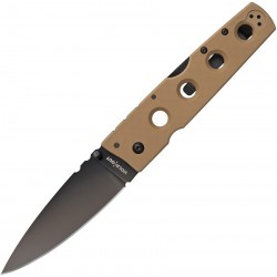 Navaja Cold Steel Hold Out II Coyote Tan CTS-XHP