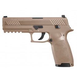 Pistola Sig Sauer P320 Coyote Tan Blowback Co2