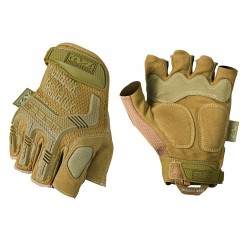 Guantes Mechanix M-PACT Sin Dedos Coyote