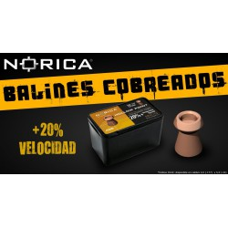 Balines Norica Hollow Point 5,5 mm 200 ud