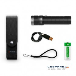 Linterna Led Lenser MT14 1000 Lumens Recargable