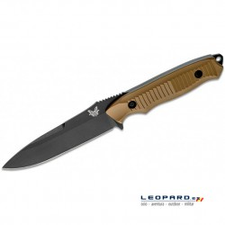 Benchmade Nimravus 140BKSN Drop Point Coyote Hoja Negra Funda Nylon