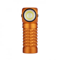 Linterna Frontal Olight Perun Mini 1000 Lumens Recargable Naranja