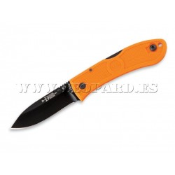 Ka-Bar Dozier Folding Hunter Naranja Hoja Negra