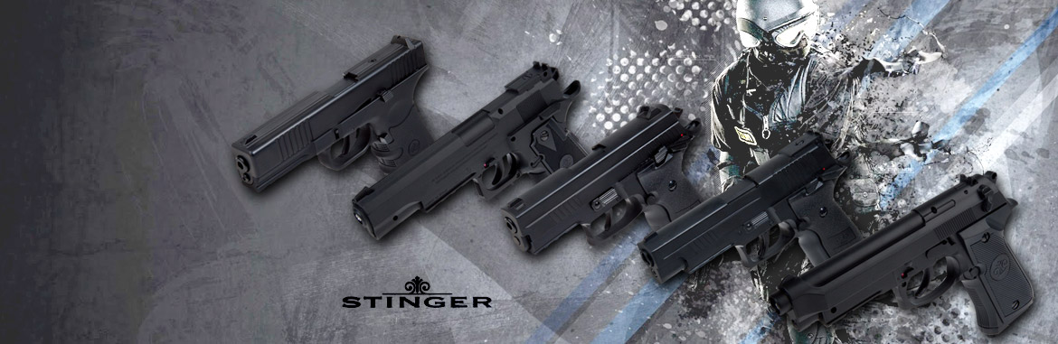 20% dto Pistolas Stinger CO