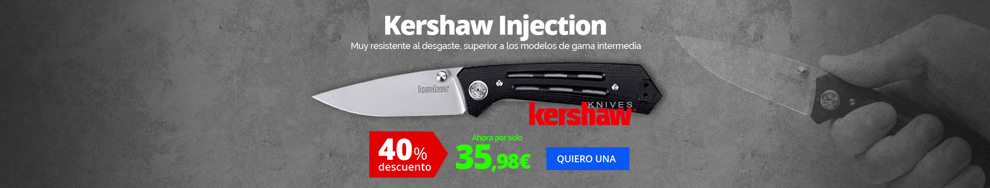 40% dto Kershaw Injection