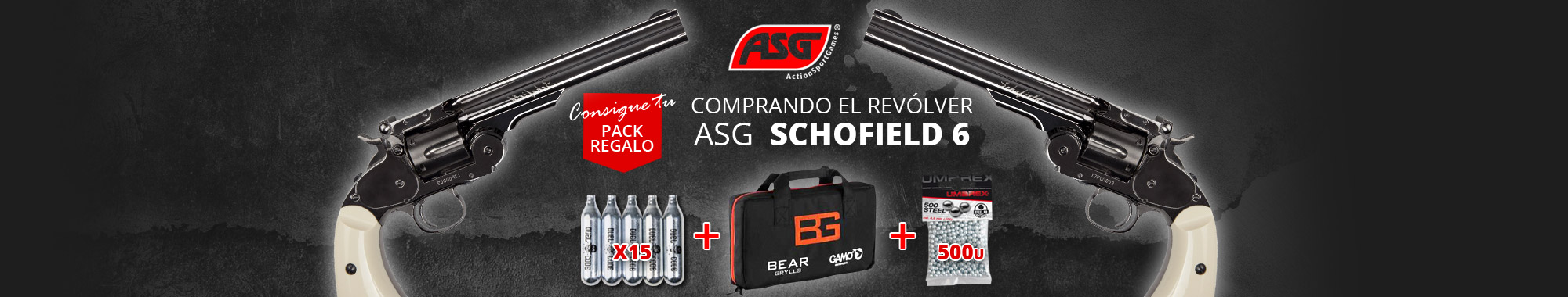 Pack regalo ASG Schofield