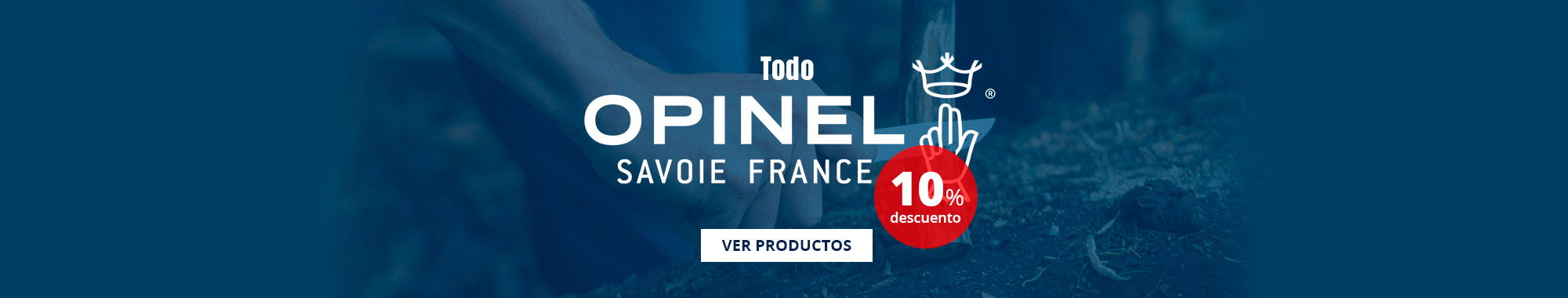 10% dto todo Opinel