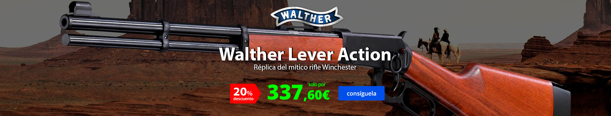 -20% Walther Lever Action