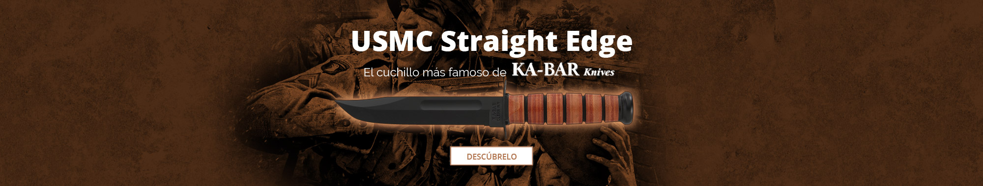 Ka-Bar USMC Straight Edge