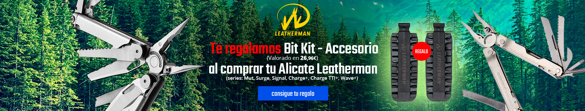 Regalo Alicates Leatherman