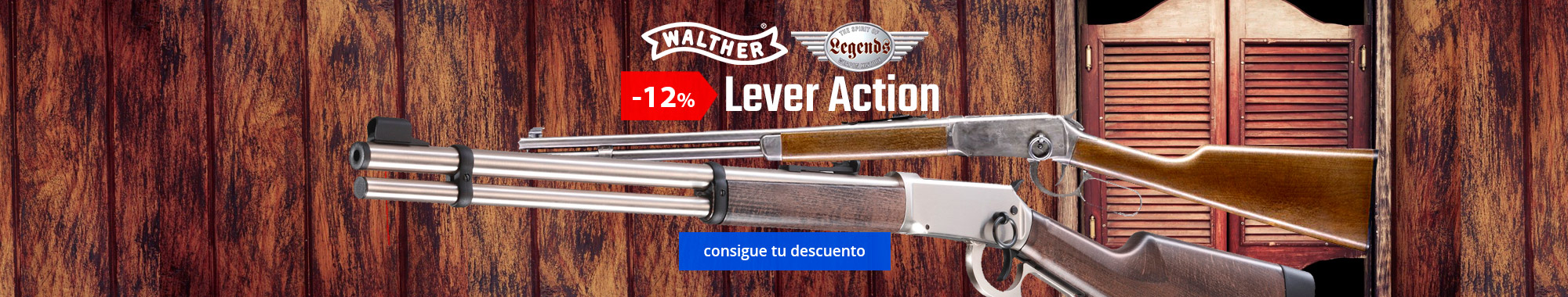 -12% Walther Lever Action