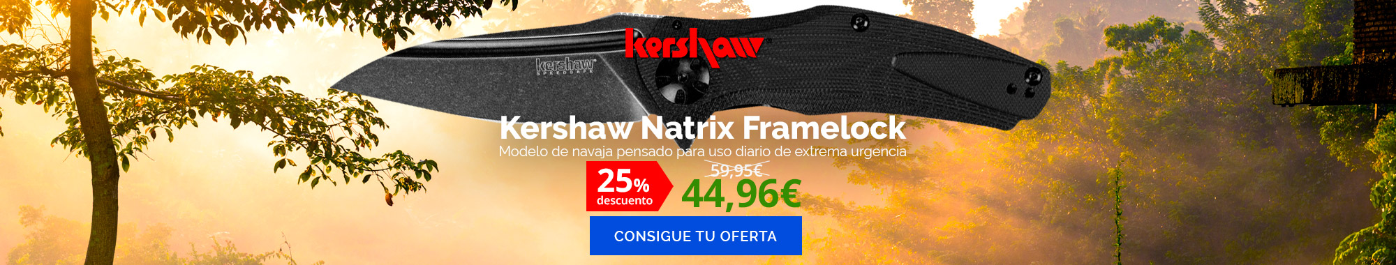 -25% Kershaw Natrix Framelock